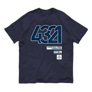 4321のシステム Organic Cotton T-shirts
