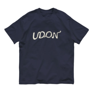 うどん Organic Cotton T-shirts