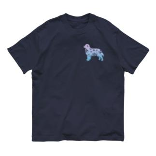 花-sun 2 バーニーズマウンテン Organic Cotton T-shirts