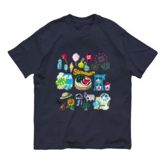 ドットSummer no.2 Organic Cotton T-shirts