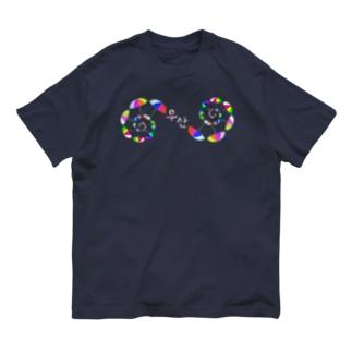「ウサン(傘) 」 ハングルデザイン Organic Cotton T-shirts