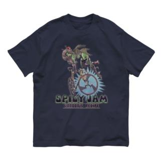 """SPICY JAM"" (green) Organic Cotton T-Shirt"