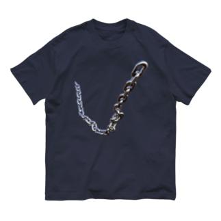 シンプルなくさり2 Organic Cotton T-shirts