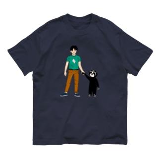 手を繋ごう Organic Cotton T-shirts