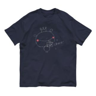 おうさまくんshopのおうさまくんはいチーズ Organic Cotton T-Shirt