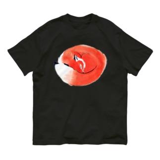 ねむりきつね Organic Cotton T-shirts