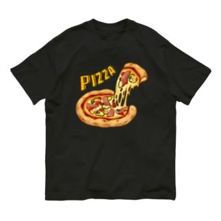 ピザ ! Organic Cotton T-Shirt