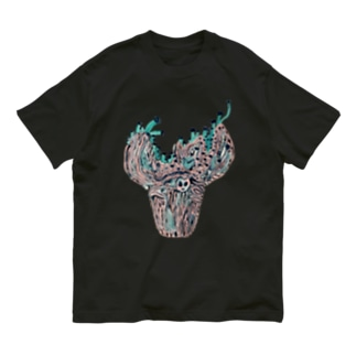 火焔型土器から茸 Organic Cotton T-shirts