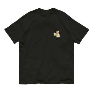 酒が旨いナンディーくん Organic Cotton T-shirts