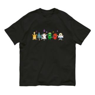 おばけTシャツ<妖怪ラインダンス> Organic Cotton T-shirts