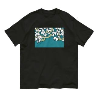 👻📗の夢の蛇(青空) Organic Cotton T-shirts