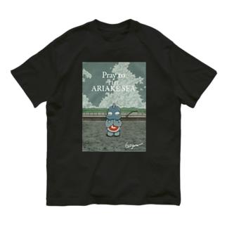 有明海の祈り Organic Cotton T-shirts