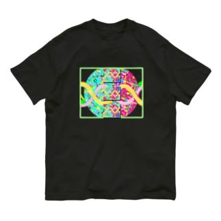今と未来を選び取る パステル パラレルワールド Organic Cotton T-shirts