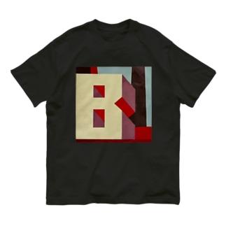 Shadow Type - Industrial B  Organic Cotton T-shirts