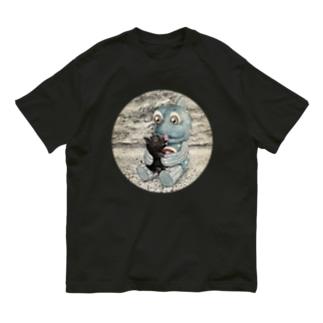 こぶたとガタの至福のとき Organic Cotton T-shirts
