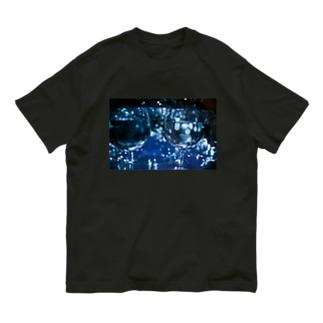 きらきらくらげぇ Organic Cotton T-shirts