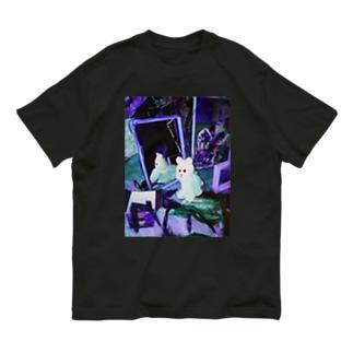 kmakici mirror Organic Cotton T-shirts