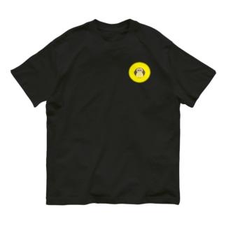 えんぎものすうじ 0 まんげつとふくろう Organic Cotton T-shirts