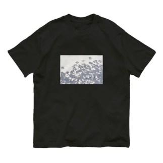 One day 花影 Organic Cotton T-shirts