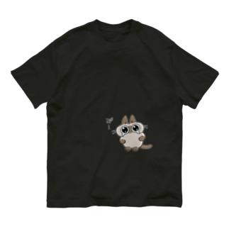"""み""""…(あずきさんver.) Organic Cotton T-shirts"""