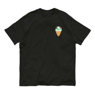 こいぬアイス Organic Cotton T-Shirt