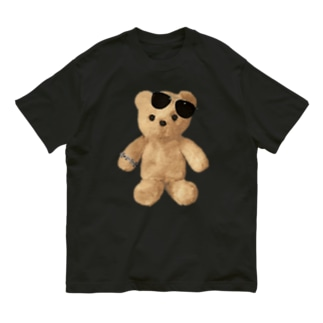 Teddy with Glasses Organic Cotton T-shirts