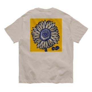 Sunflower(背面) Organic Cotton T-shirts