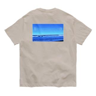 背中プリント また輝く日まで Organic Cotton T-Shirt