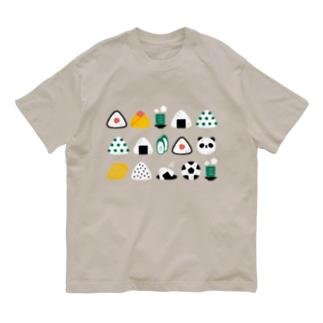 おにぎり Organic Cotton T-shirts