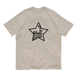 星 機械 Organic Cotton T-Shirt
