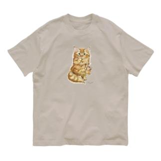 すももちゃん Organic Cotton T-shirts