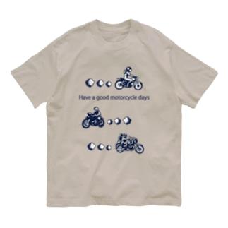 モーターサイクル日記(NB) Organic Cotton T-Shirt