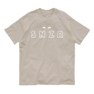 シュナウザー SNZR&まゆげ Organic Cotton T-shirts