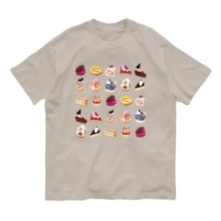 ケーキいっぱい Organic Cotton T-shirts