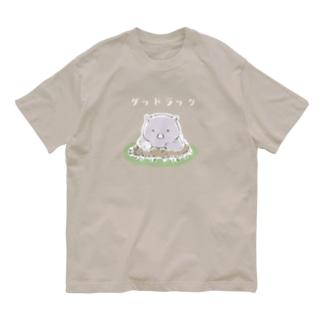 ウォンバット <グッドラック> Organic Cotton T-Shirt