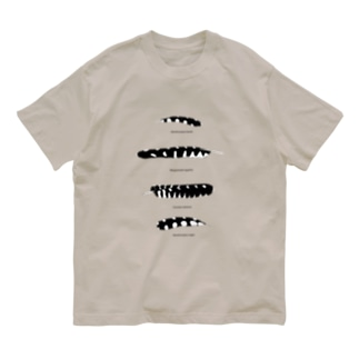 コクビャクノハネ 淡色 Organic Cotton T-shirts