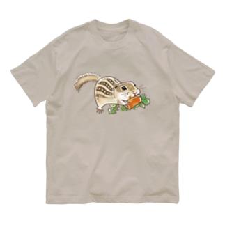 もりもりジュウサンセンジリス Organic Cotton T-Shirt