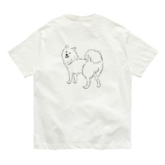 日本スピッツのおしり Organic Cotton T-shirts