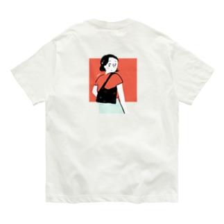 カバンの女の子 Organic Cotton T-shirts