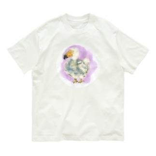 いきものイラスト(ドードー) Organic Cotton T-shirts