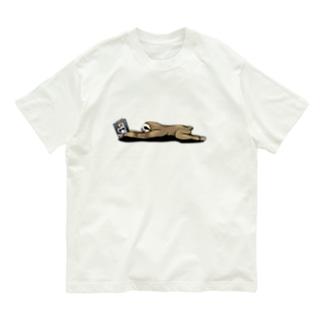 Poooompadoooourの本と、なまけもの Organic Cotton T-shirts