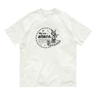 我々は宇宙人だ Organic Cotton T-Shirt
