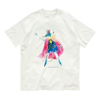 ねずみの王様🐭 ロゴ付き Organic Cotton T-shirts