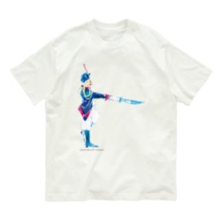 兵隊さん🗡 ロゴ付 Organic Cotton T-shirts