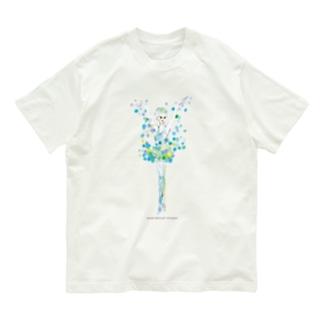 雪の精❄️ ロゴ付 Organic Cotton T-shirts