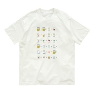 アルコール Organic Cotton T-shirts