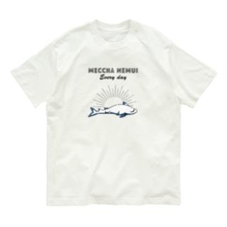 MECCHA NEMUI さめ Organic Cotton T-shirts