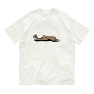 Poooompadoooourの本と、なまけもの(かげなし) Organic Cotton T-shirts