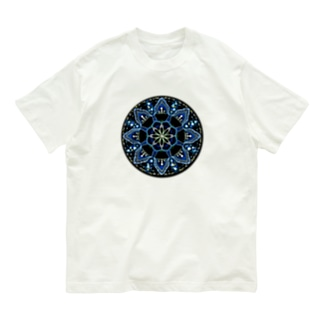 薄氷−丸ver. Organic Cotton T-shirts