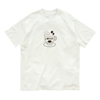 COFFEE CAT 1 Organic Cotton T-shirts